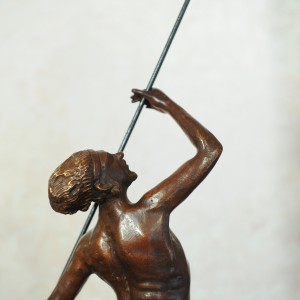 Chirone - Bronze sculpture made by Alessandro Romano