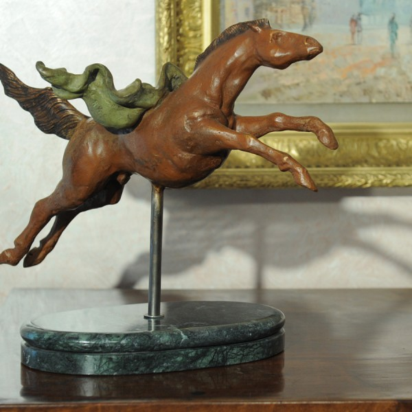 Horse - Bronze sculpture made by Alessandro Romano